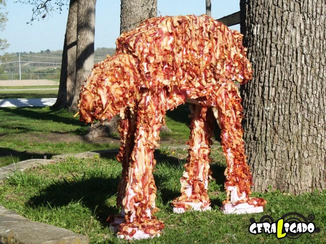 Coisas bizarras feitas com carne16