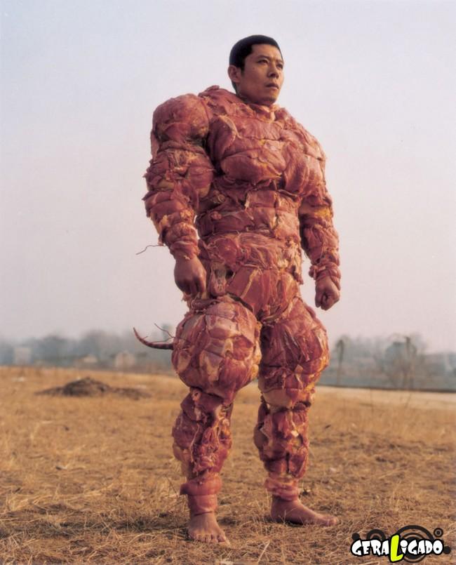 Coisas bizarras feitas com carne5