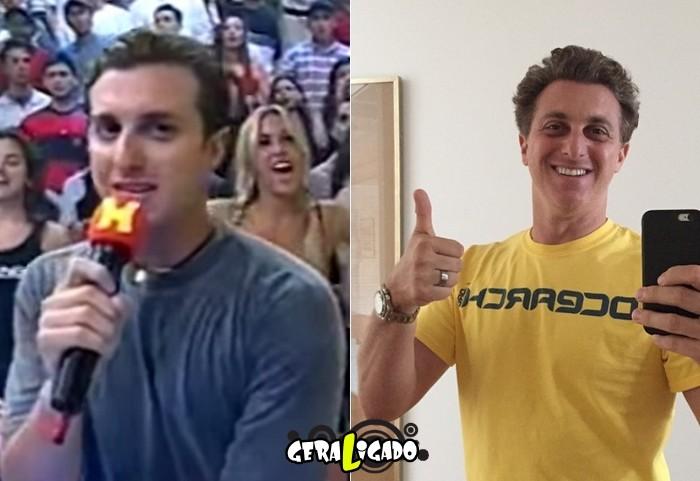 Confira o antes e depois dos apresentadores de TV10