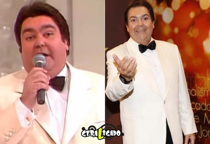 Confira o antes e depois dos apresentadores de TV13