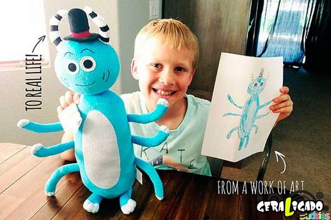 Empresa transforma desenhos em bonecos de pelúcia7