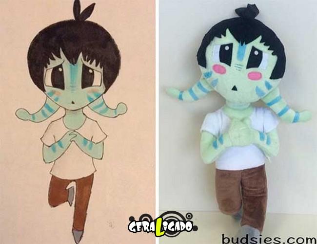 Empresa transforma desenhos em bonecos de pelúcia8