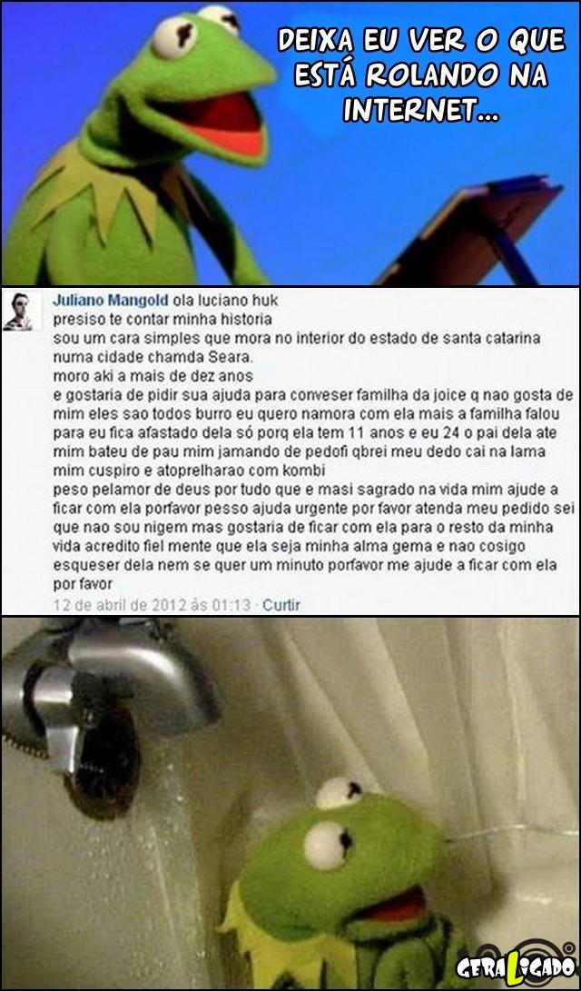 5 Pedindo ajuda para o Luciano Hulk