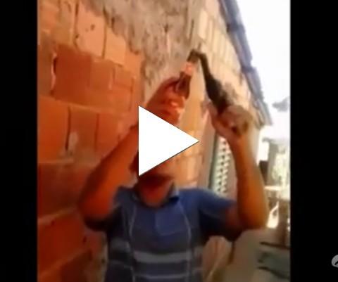 Abridor de garrafa da favela