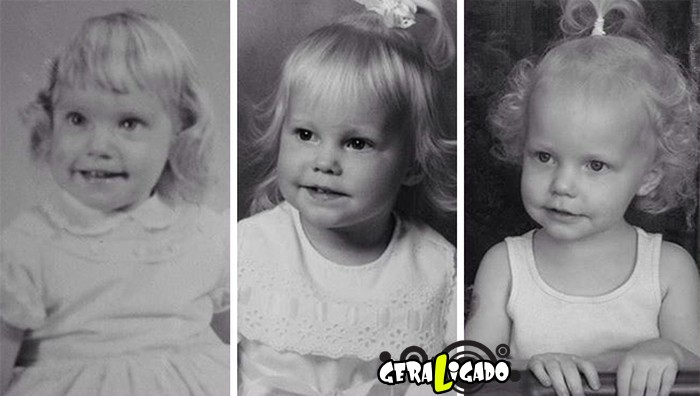 Filhos que se parecem com seus pais quando mais novos11