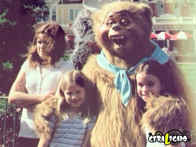 Os Mascotes mais assustadores você va viu