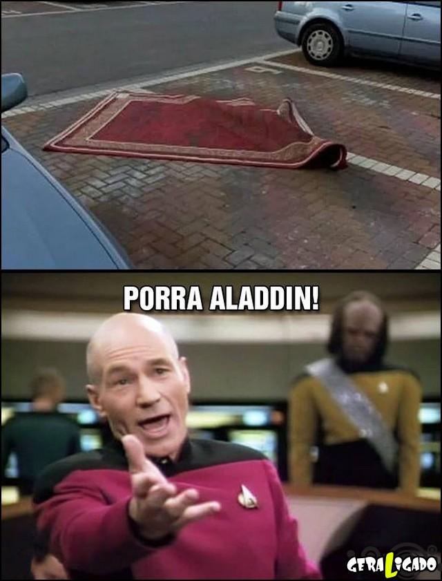 2 Aladdin não sabe estacionar