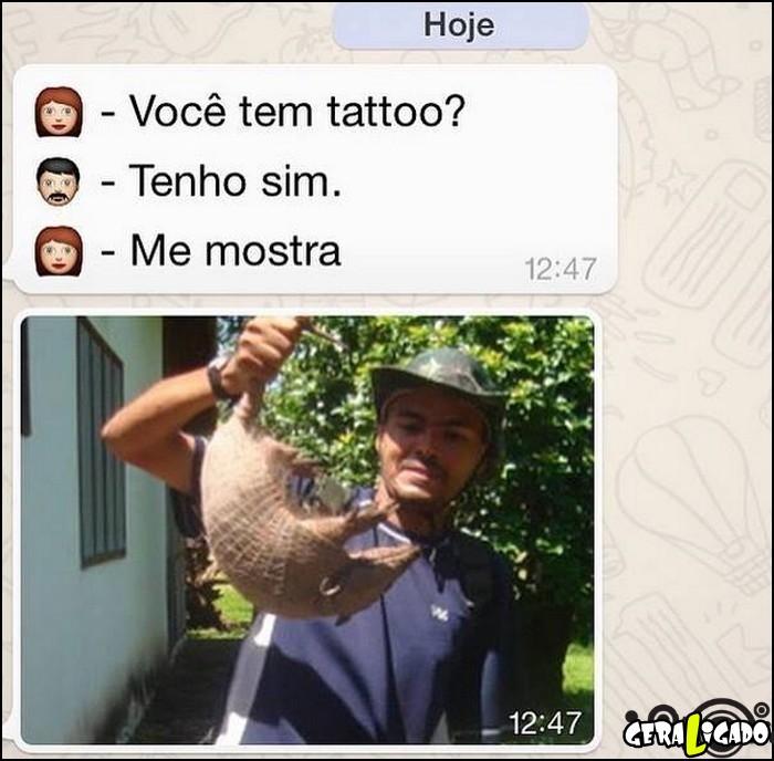 2 Você tem tatto
