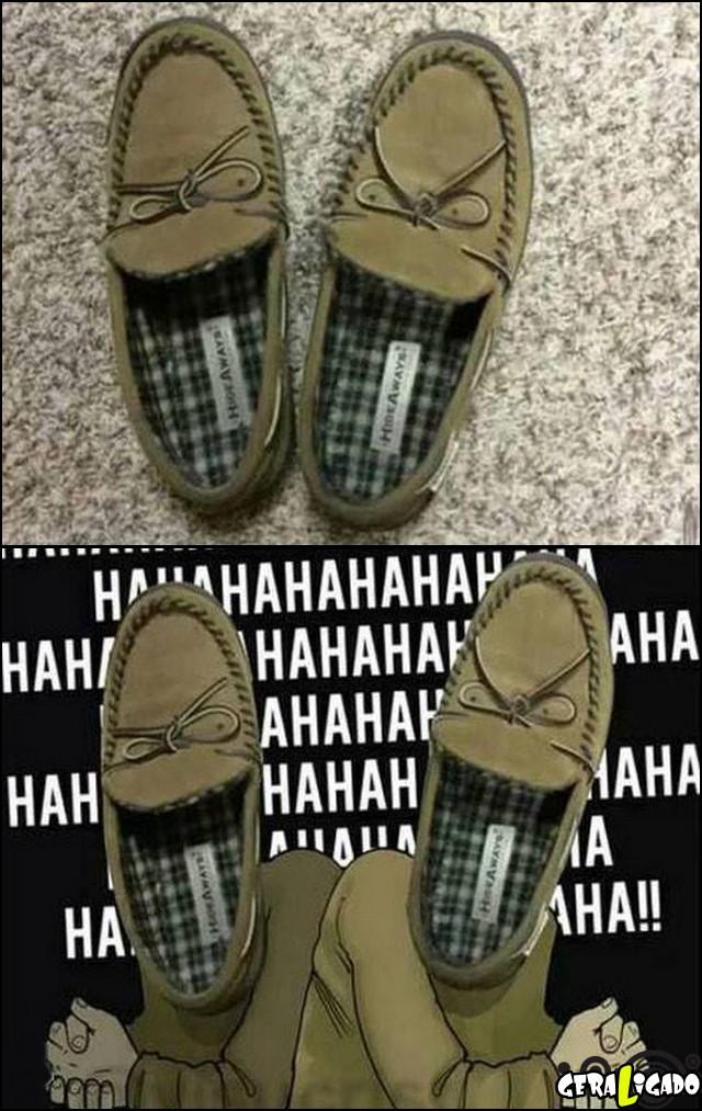 4 Sapatos diabolicos