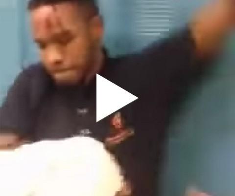 Briga de leve em uma escola nos EUA