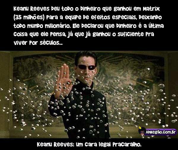 Keanu Reeves historia