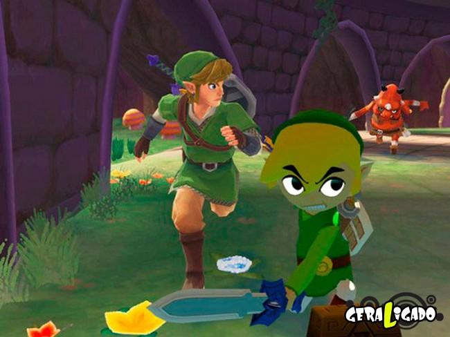 Personagesn de Video Game Antes e agora6