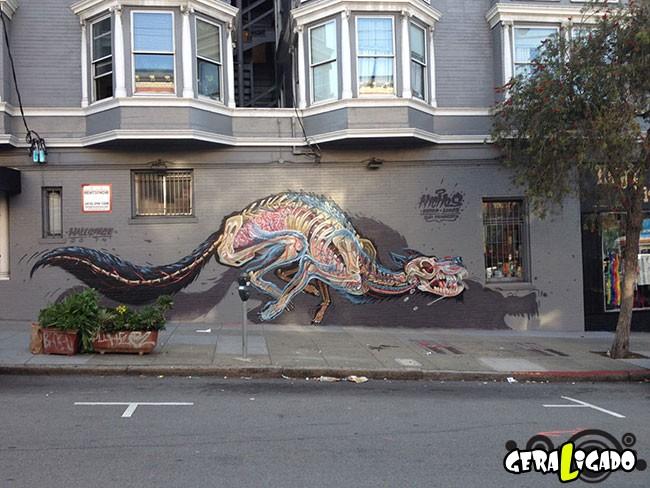 Anatomia vira  arte de rua9