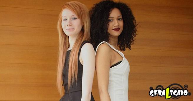 As Irmãs Gêmeas mais diferente do mundo