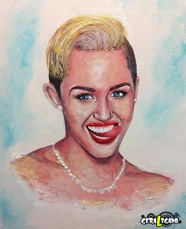 Criando retratos de famosos com coisas inusitadas1