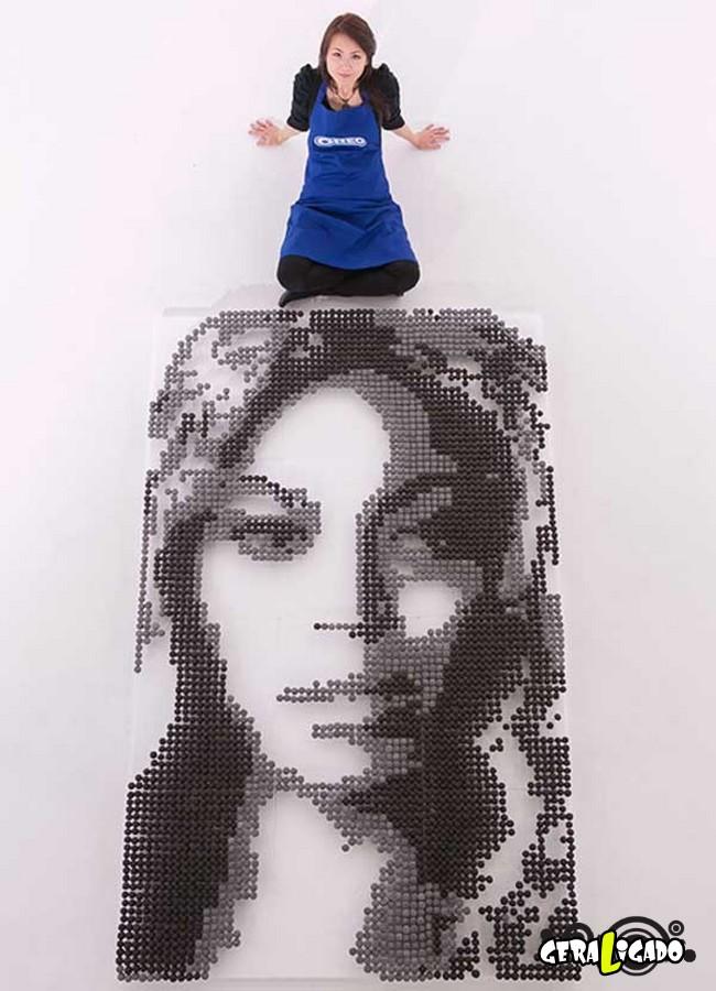 Criando retratos de famosos com coisas inusitadas13