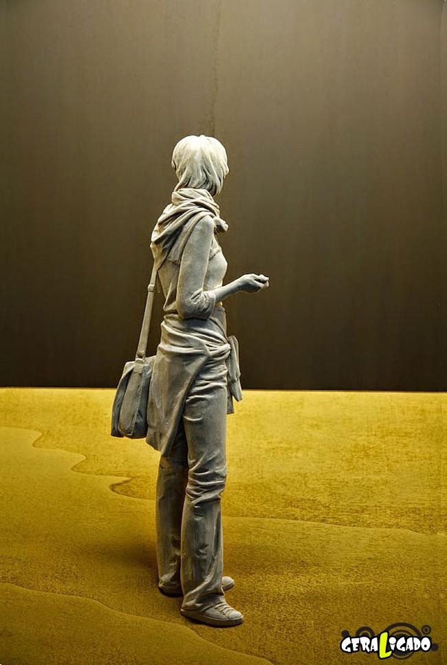 Esculturas de madeira ultra realistas de Peter Demetz2