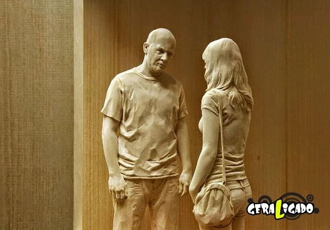 Esculturas de madeira ultra realistas de Peter Demetz5