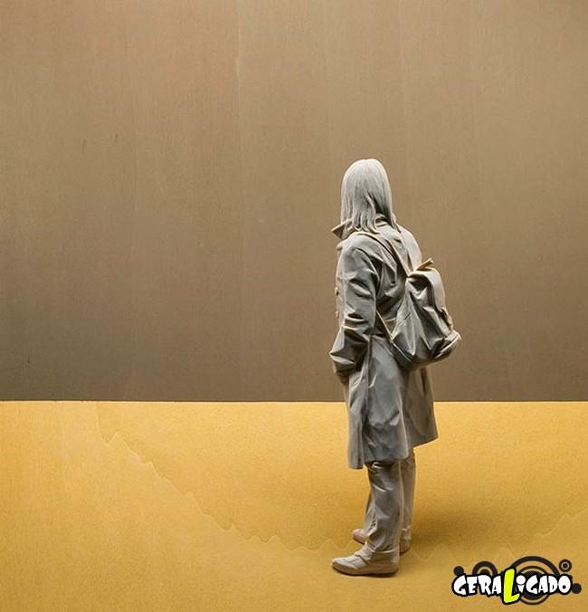 Esculturas de madeira ultra realistas de Peter Demetz8