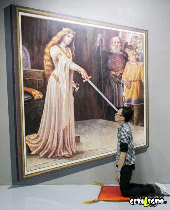 Museu 3D faz com que os visitantes participem das obras de arte1