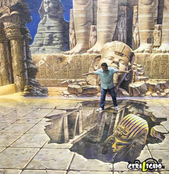 Museu 3D faz com que os visitantes participem das obras de arte14