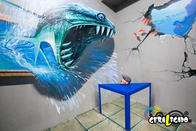 Museu 3D faz com que os visitantes participem das obras de arte2