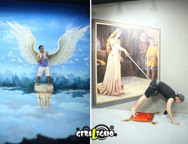 Museu 3D faz com que os visitantes participem das obras de arte5