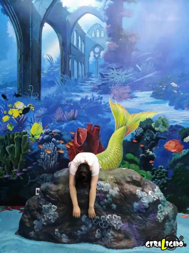 Museu 3D faz com que os visitantes participem das obras de arte8