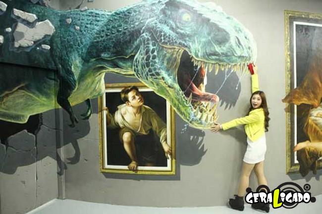 Museu 3D faz com que os visitantes participem das obras de arte9