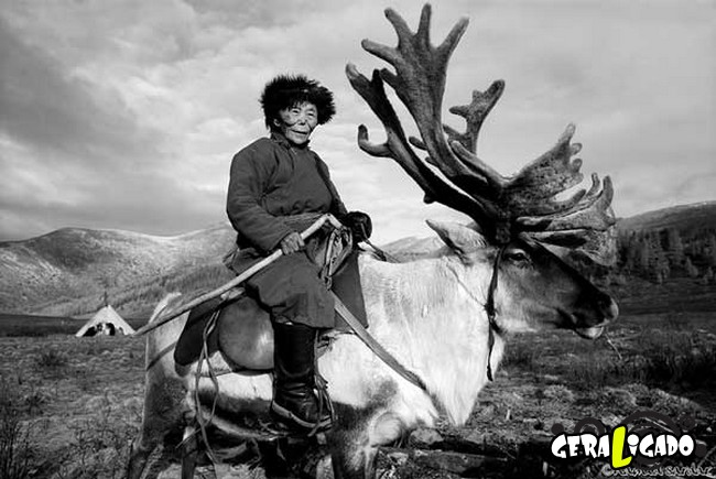 O cotidiano de uma tribo nômade da Mongólia10