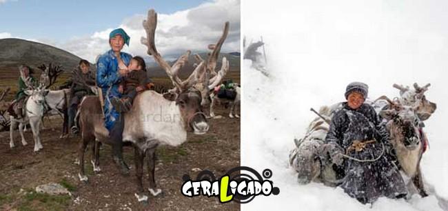 O cotidiano de uma tribo nômade da Mongólia6