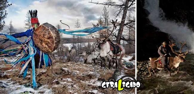O cotidiano de uma tribo nômade da Mongólia7