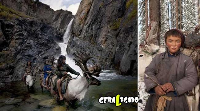 O cotidiano de uma tribo nômade da Mongólia8