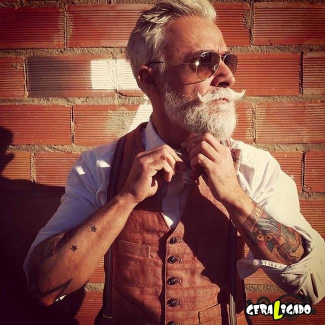 Quem disse que tatuagem é só para jovens