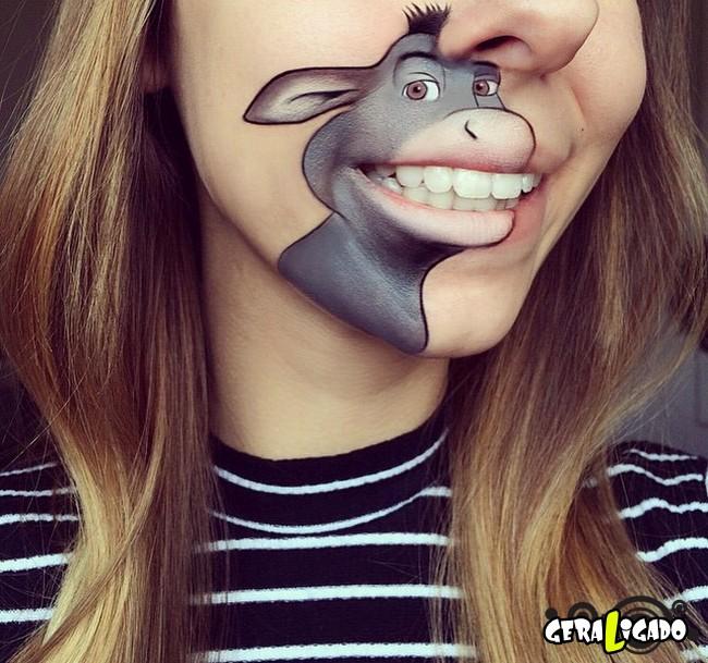 Transformando a boca em cartoons10