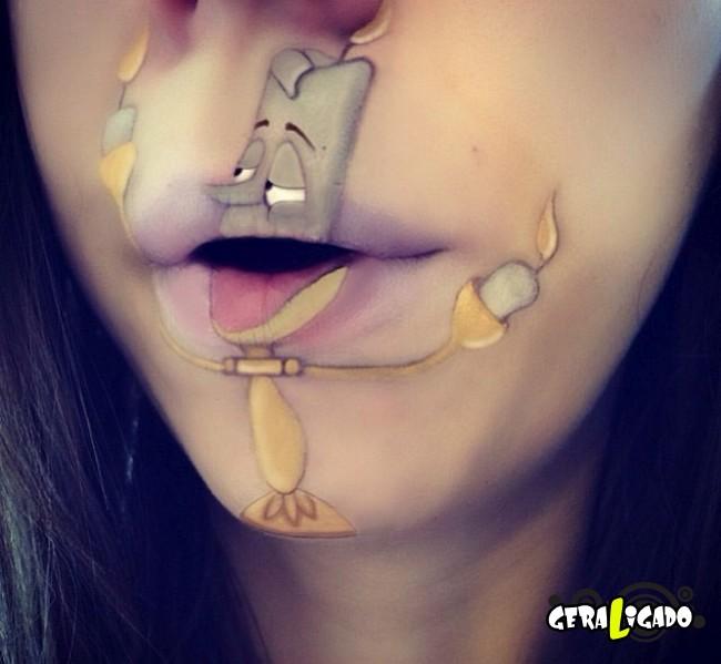 Transformando a boca em cartoons12