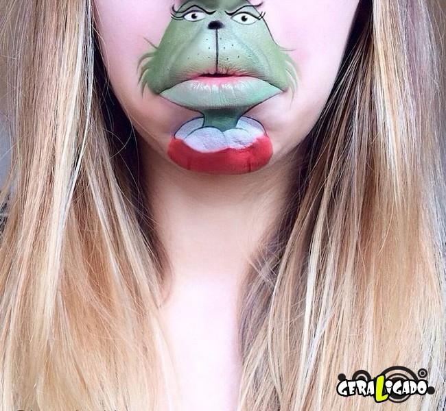 Transformando a boca em cartoons16