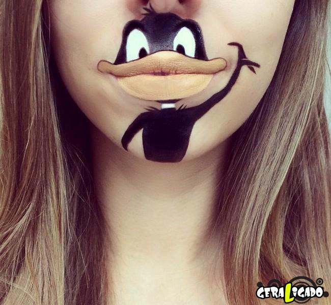 Transformando a boca em cartoons21