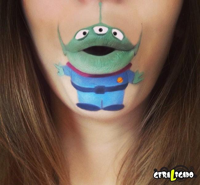 Transformando a boca em cartoons28