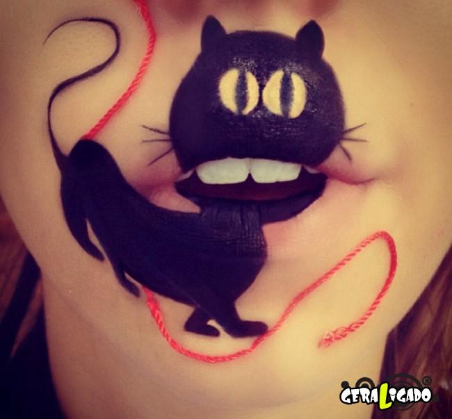 Transformando a boca em cartoons30