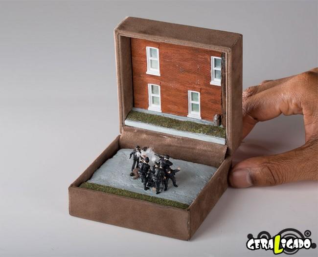 Transformando antigas caixas de aliança em paisagens históricas16