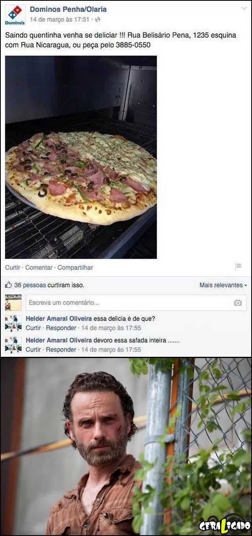 1 Tesão em pizza