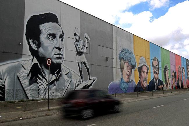 A melhor arte de rua que você ja viu.
