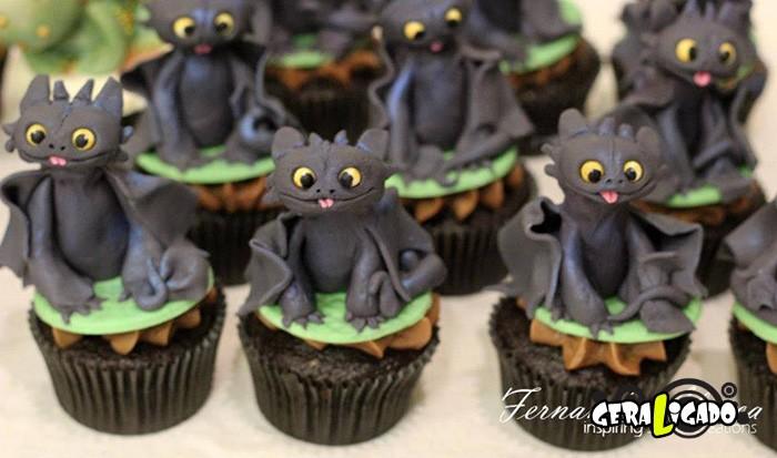 Cupcakes inspirados em algumas animações1