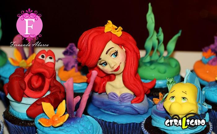 Cupcakes inspirados em algumas animações10