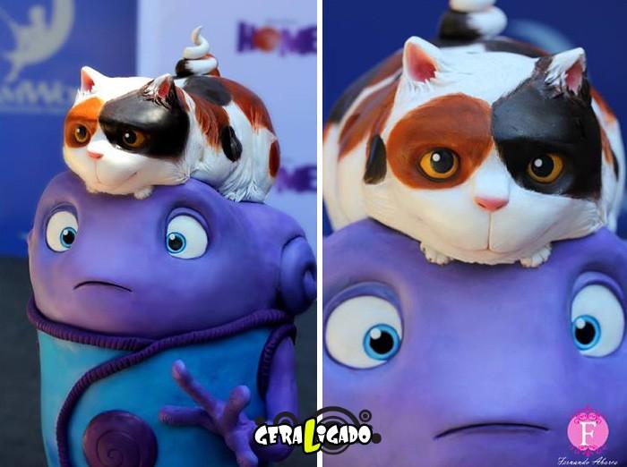 Cupcakes inspirados em algumas animações12