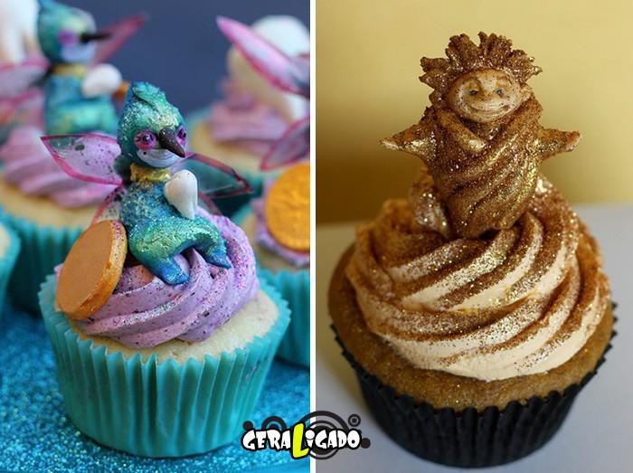 Cupcakes inspirados em algumas animações13