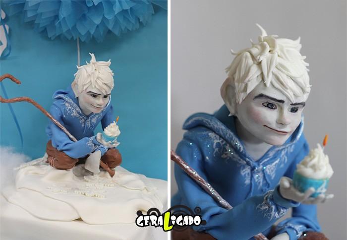 Cupcakes inspirados em algumas animações6