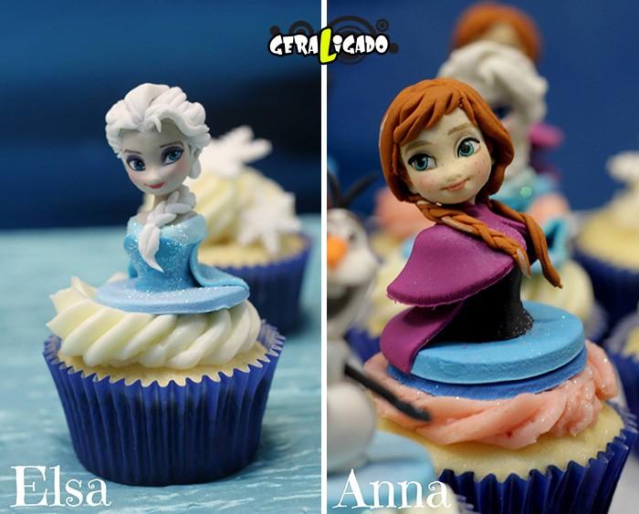 Cupcakes inspirados em algumas animações8