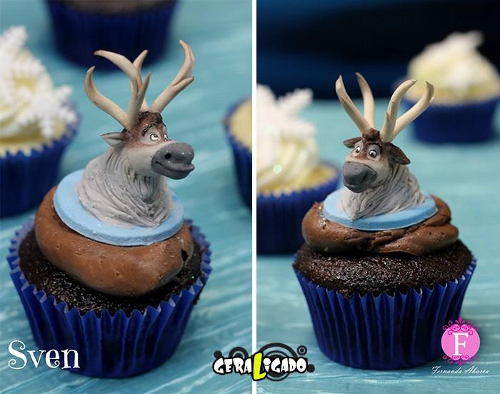 Cupcakes inspirados em algumas animações9